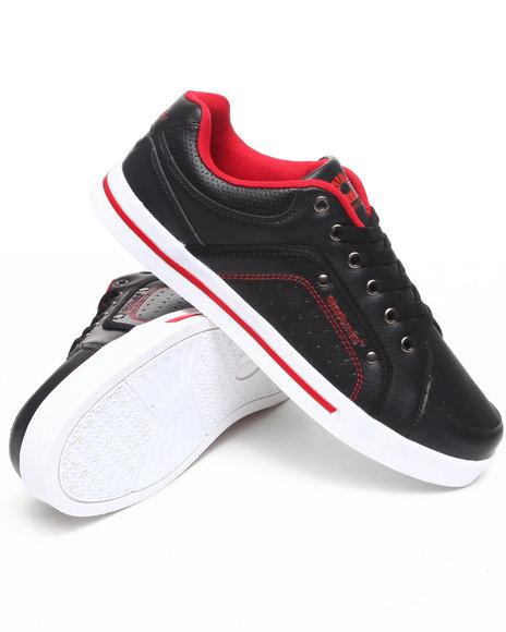 Akademiks Men Black Akademiks Mud Guard Lowtop Sneaker