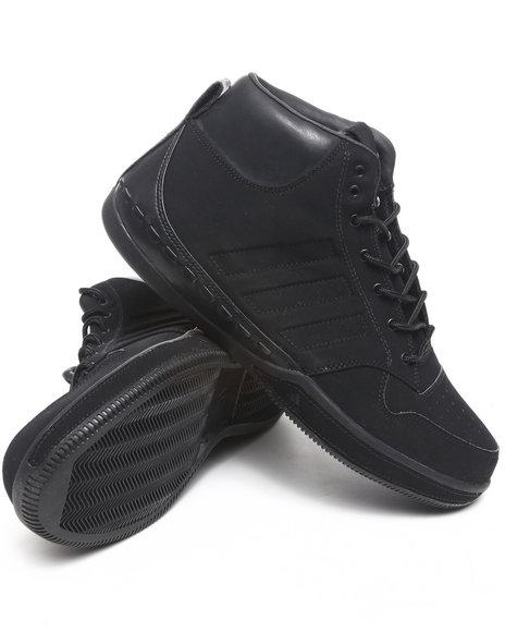 Adidas Men Black Lux Mid Sneakers