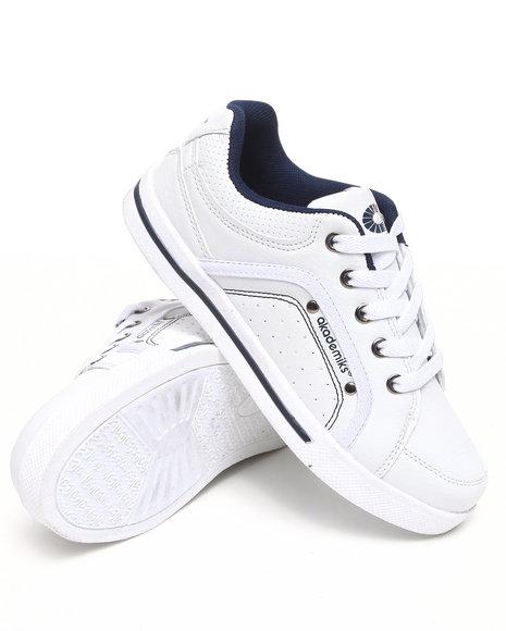 Akademiks Men Navy Akademiks Mud Guard Lowtop Sneaker
