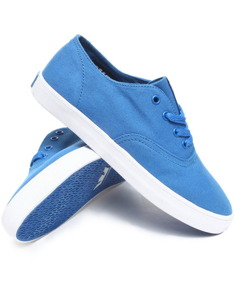Supra Men Blue Wrap Sneakers