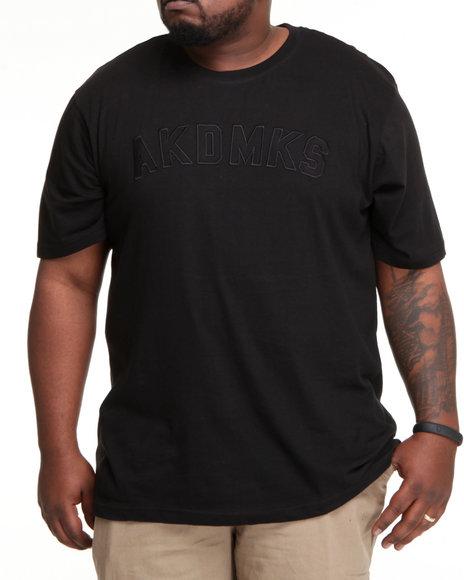 Akademiks Men Black Classic Akademiks S/S Crewneck Tee (B&T)