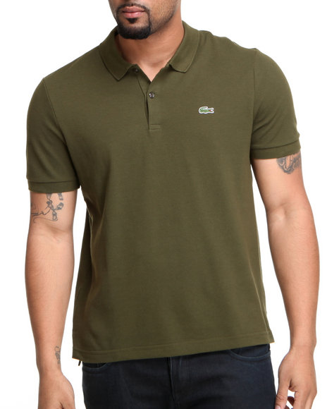 Lacoste - Men  L!Ve S/S Solid Pique Polo