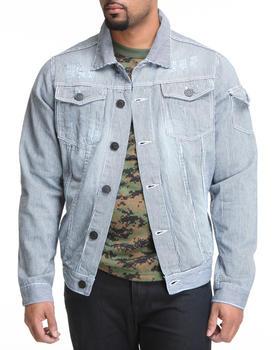 Basic Essentials - Railroad Stripe Jacket