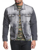 Basic Essentials - Blast Grey Denim Jacket