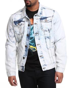 Basic Essentials - Patch Denim Jacket