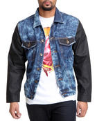 Buyers Picks - Coated Denim Sleeves Jacket