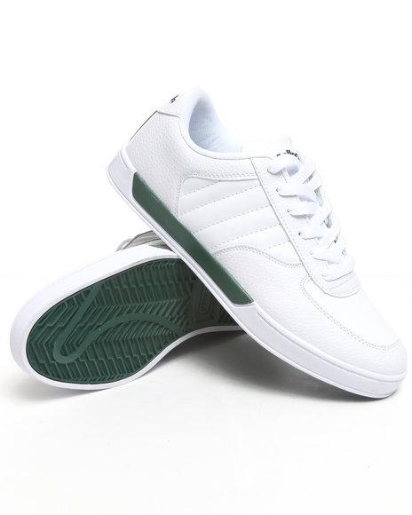 Pelle Pelle Men Green,White Pelle Half Time Sneaker