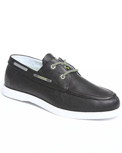 COOGI Men Black Louis 2 Boat Shoe