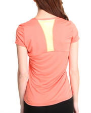 Women - Racerback Contrast Performance Tee