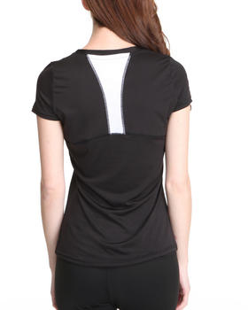 DRJ Performance Shoppe - Racerback Contrast Performance Tee