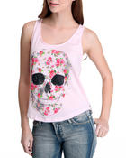 Women - Flores Muertas Lace Back Tank