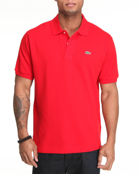 Lacoste - Men Red S/S Classic Pique Polo