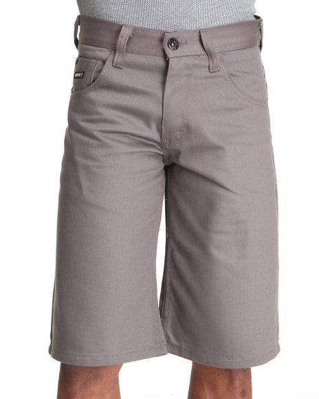 Enyce Men Charcoal New Tradition Color Short
