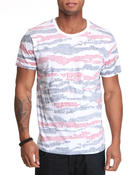 Shirts - Pixel Stripe pocket tee