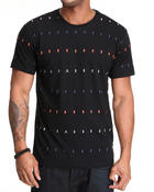 WESC - Rautor Stripe all over print tee