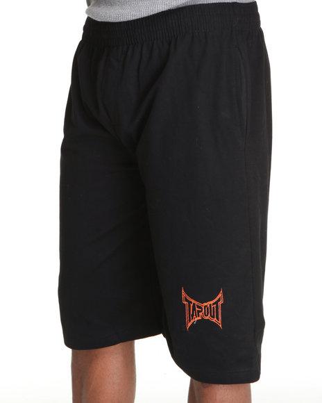Tapout Men Tapout Fleece Sweat Short Black XLarge