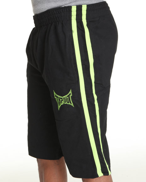 Tapout Men Tapout Fleece Sweat Short Lime Green XLarge