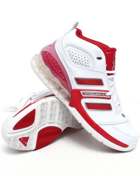 Adidas Men White Bounce Artillery Ii Sneakers