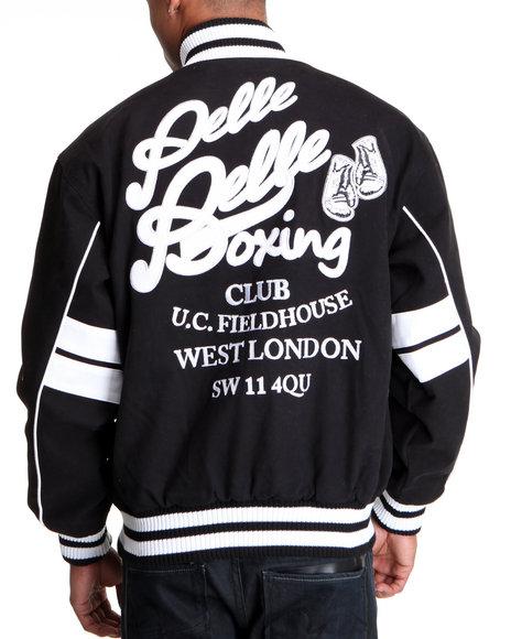 Pelle Pelle Men Black Pelle Boxing Club Varsity Jacket