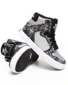 Supra - Vaider Snake Print Canvas Sneakers (Youth)