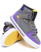Supra - Vaider Grey Raptor TUF Sneakers (Youth)