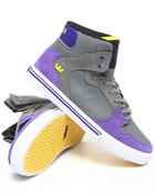 Supra - Vaider Grey Raptor TUF Sneakers (Kids(