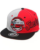 Men - Smokeys Puff & Give snapback hat (Undervisor treatment)