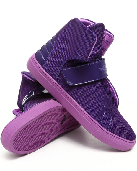 Creative Recreation Men Dark Purple,Purple Geno Hightop Sneaker
