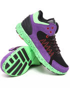 Supra - Owen Mid Purple Microfiber/Black Mesh Sneakers