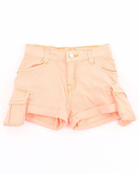 COOGI Girls Red Cargo Shorts (7-16)