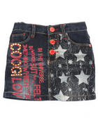Girls - Denim Skirt (2t-4t)