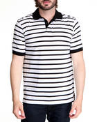 Buyers Picks - Single Striped Jersey Polo