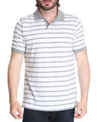 Shirts - Single Striped Jersey Polo