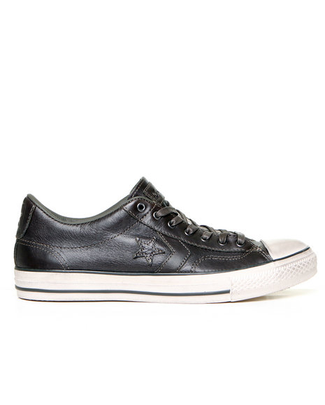 Ur-ID 136652 Converse By John Varvatos Men Jv Star Player Burnished Leather Black 10 by Converse by John Varvatos
