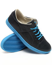Men - Tucco BLK/BLUE Leather sneaker