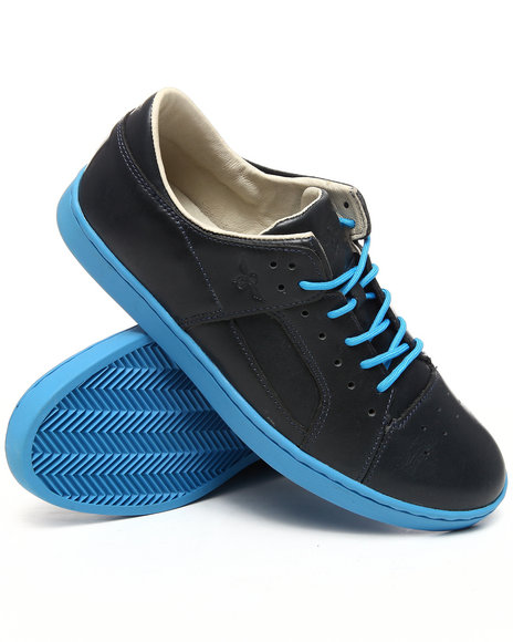 Creative Recreation - Men Black,Blue Tucco Blk/Blue Leather Sneaker