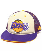 NBA, MLB, NFL Gear - Los Angeles Lakers  team logo Mesh Snapback hat