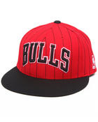 NBA, MLB, NFL Gear - Chicago Bulls Team Stripe Snapback hat