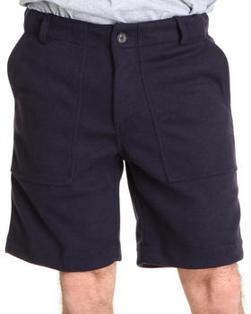 Shades of Grey by Micah Cohen - Relax Pique Field Short w/ Pocket Detail