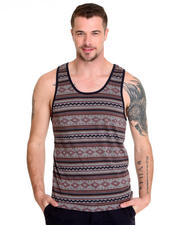 Shades of Grey by Micah Cohen - Navajo Print Tank Top