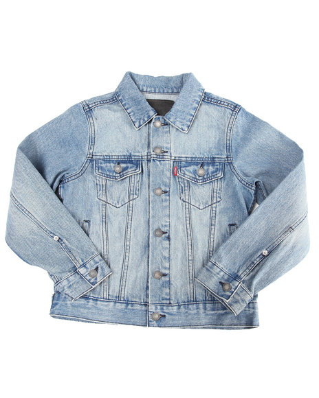 Levi's Light Wash Denim Jackets
