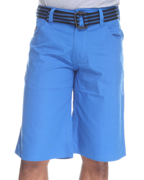 Enyce Men Blue Hr Rip Stop Short