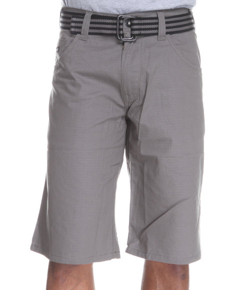 Enyce Men Grey Hr Rip Stop Short
