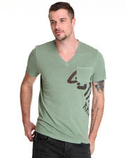 Shirts - Exile V-Neck Pocket Tee