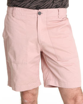Shades of Grey by Micah Cohen - Relax Twill Field Short w/ Pocket Detail