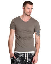 Shades of Grey by Micah Cohen - Low Crewneck Tee