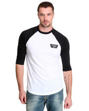Vans - Full Patch Raglan 3/4 Sleeve Tee