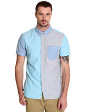 Button-downs - Rusden Block S/S Button-down