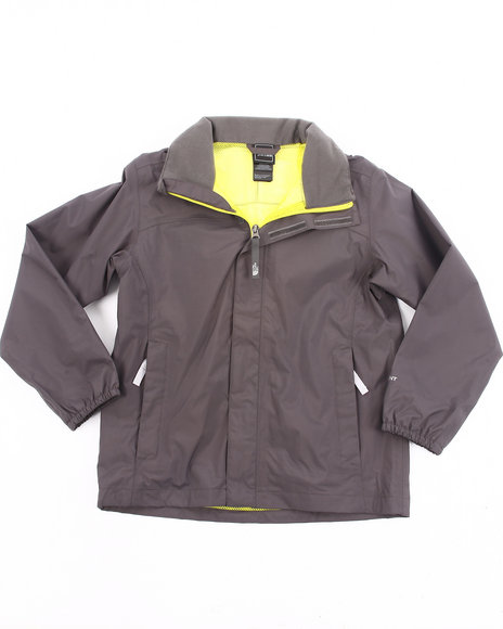 The North Face Boys Grey Resolve Jacket (4-20)