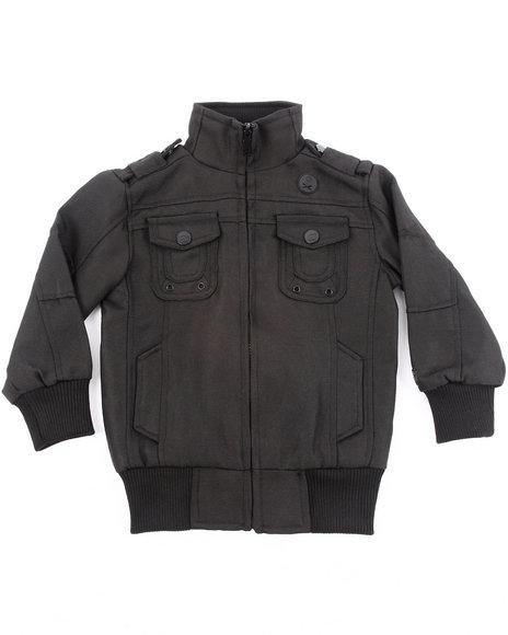 Arcade Styles Boys Black Lifetime Jacket (4-7)